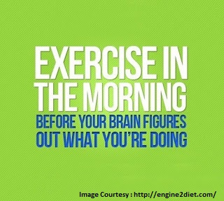 Why Morning is the best time to workout.